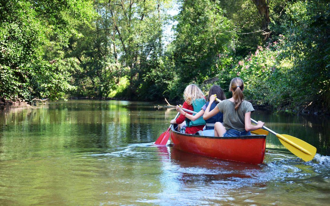 Die Kanusaison auf der Donau beginnt! Ab Juli können wieder Kanus ausgeliehen werden