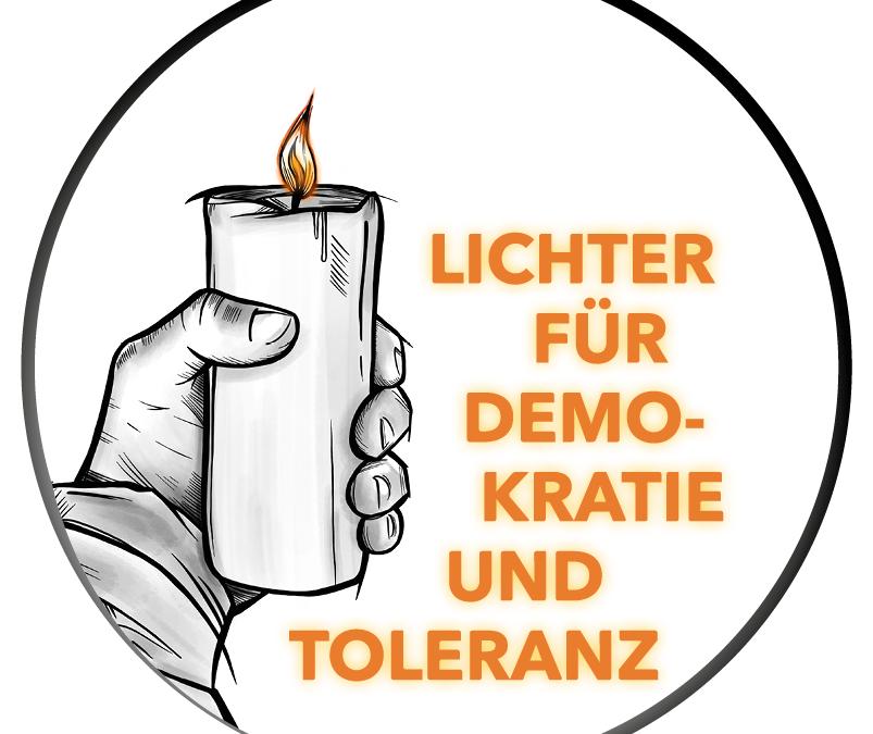 Lichter für Demokratie und Toleranz 19.02.2021