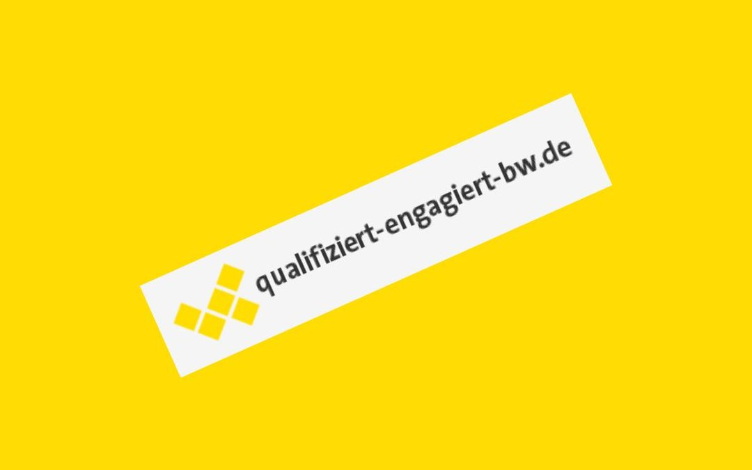 qualifiziert- engagiert: Qualifizierungsangebote für Ehrenamtliche – Landkreis Biberach ist dabei