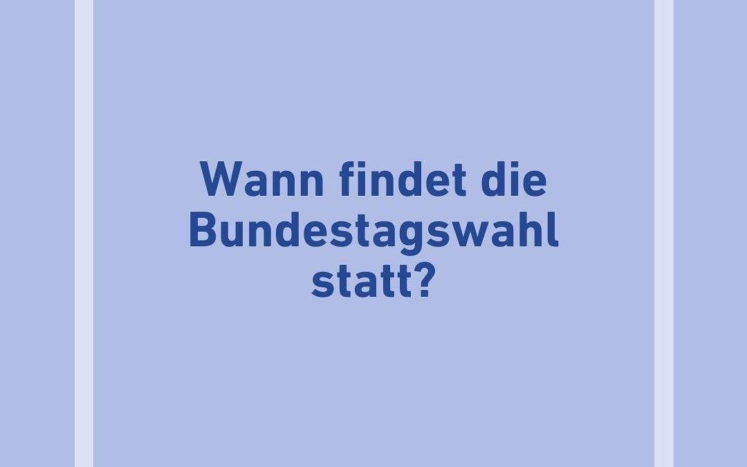Facts zur Bundestagswahl